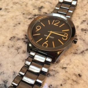 Large face ninewest watch used